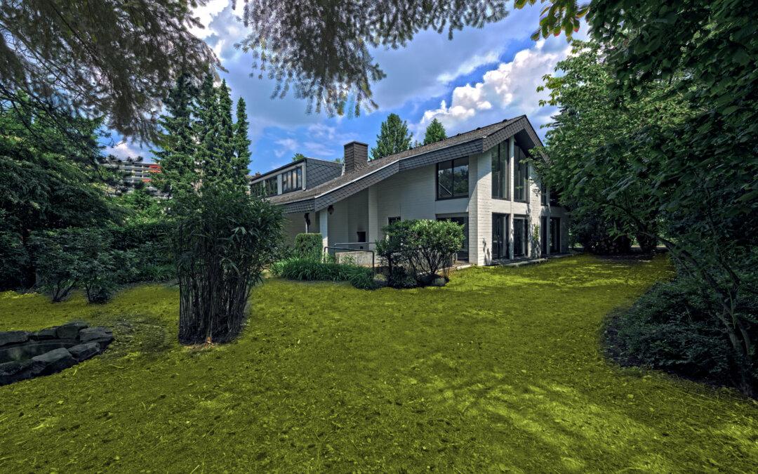 5819,  Außergewöhnliche Architektenvilla auf Traumgrundstück